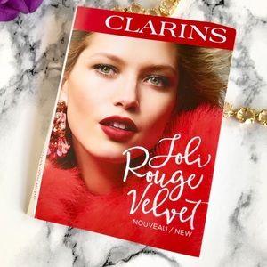 Clarins - Joli Rouge Velvet Lip Sample Card